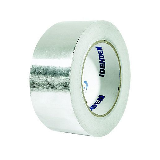 Wickes Self Adhesive Foil Tape 50mm X 45m Tape Insulation Materials Glue Tape