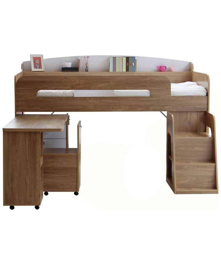 Shop Beds Online: Buy Ultimate Storage Midsleeper Bed At Argos.co.uk
