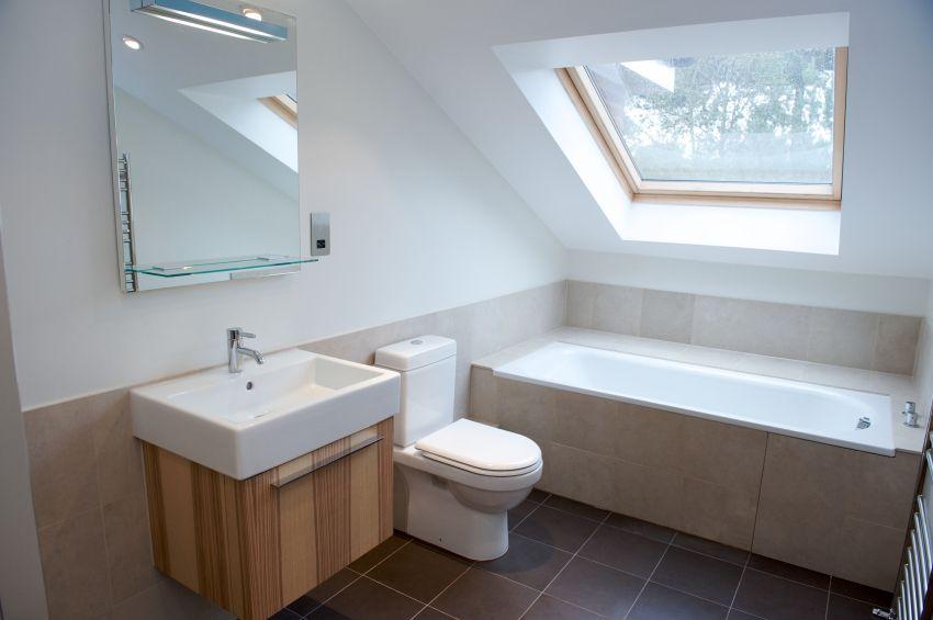 34 Attic Bathroom Ideas And Designs  Loft Bathroom Attic Interesting Loft Bathroom Designs Decorating Design