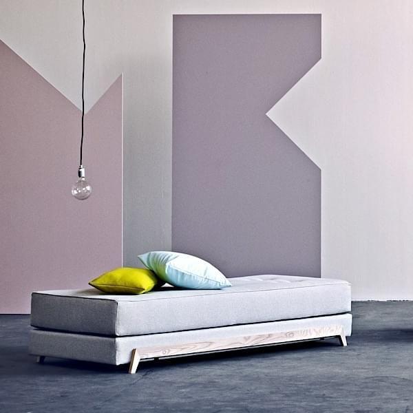Wohnideen Used Look frame sofabed nordic liege einfach zu verwandeln