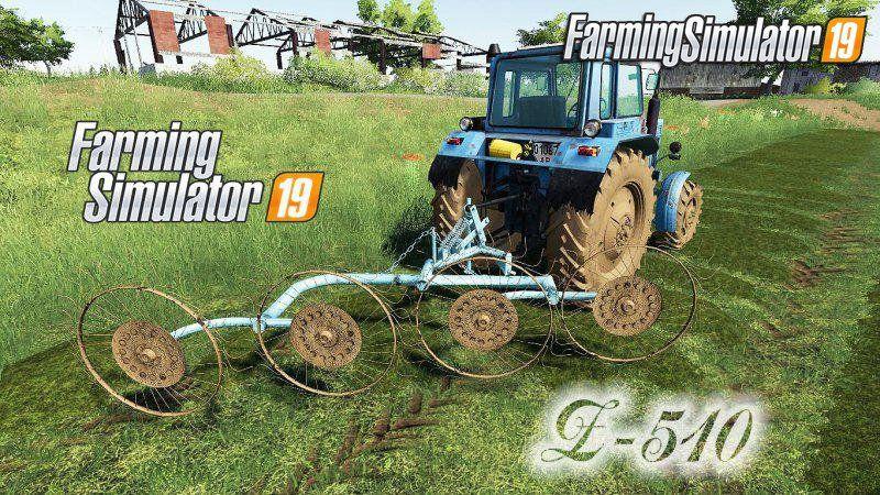 Gwiazda Z510 v1.0 for FS19 Farming simulator, Farm