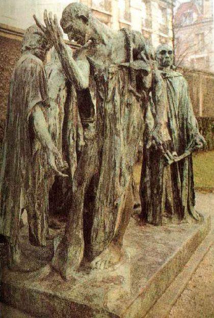 03. Los burgueses de Calais. Rodin. Londres
