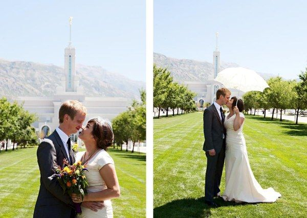 Real Wedding: Lynn & Jarom's Colorful, Budget Friendly Utah Wedding