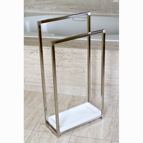Edenscape Free Standing Towel Stand Free Standing Towel Rack Towel Rack Modern Towel Bars