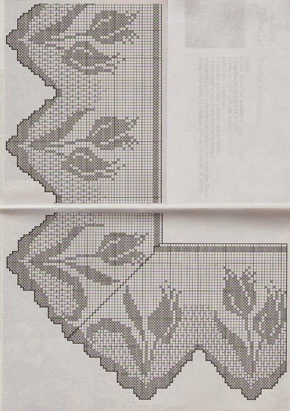 0_a821f_46d2a0c3_XL.jpg (564×800) | Patrones | Pinterest | Filete ...