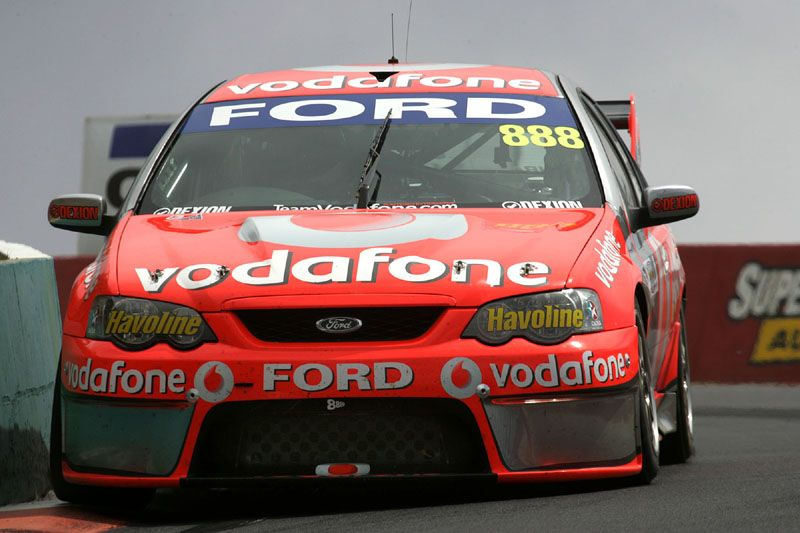 2008 Bathurst Winners Craig Lowndes Ans Jamie Whincarp In Bf Ford Falcon Aussie Muscle Cars Australian Cars Ford Racing