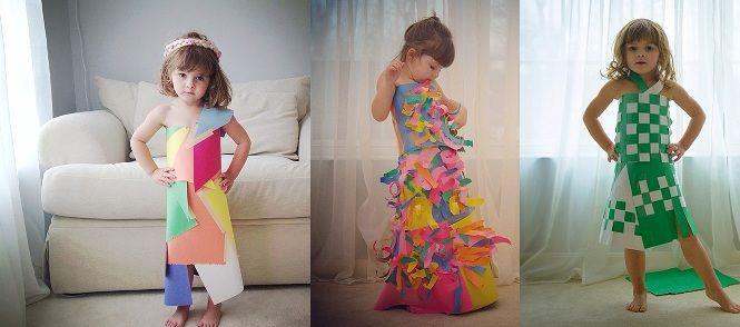 Risultati immagini per vestiti di carta per bambini  bc072098ad61