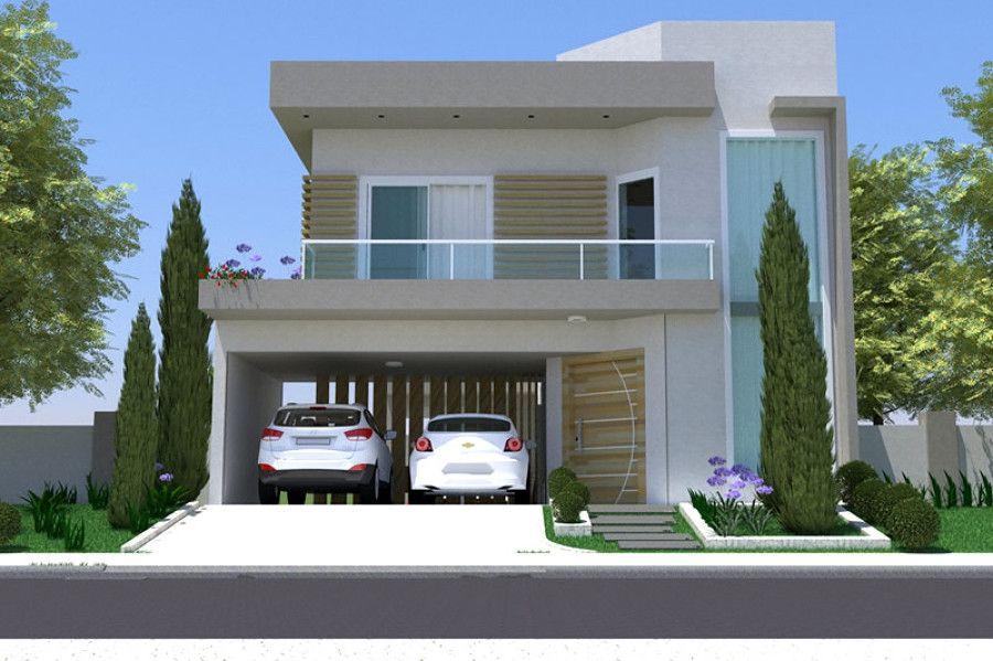 Resultado de imagem para modelo de frente de casas com for Modelo de fachada de casa