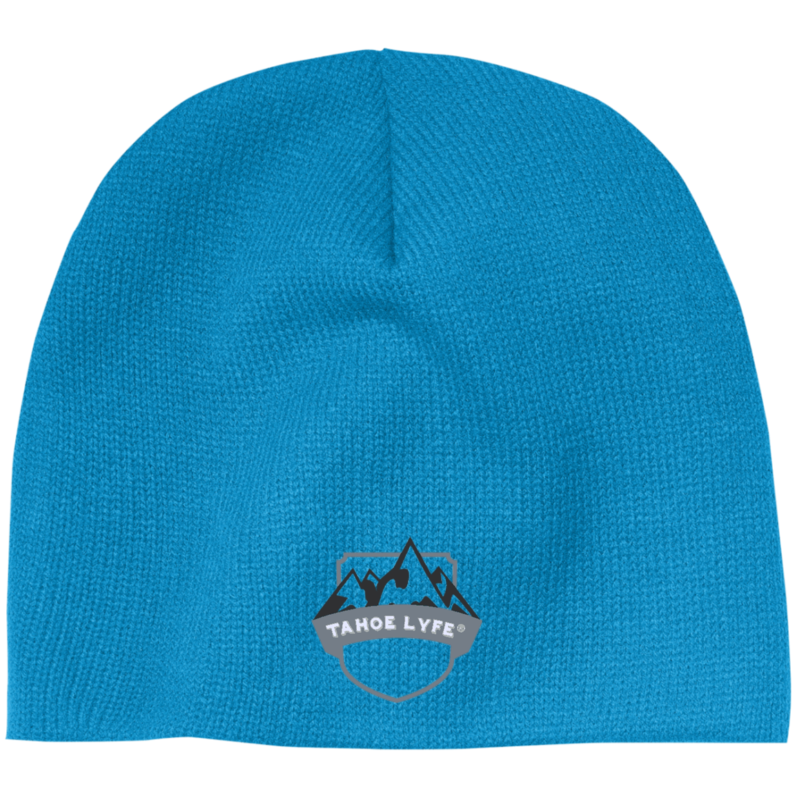 Mountain Shield Logo 100 Acrylic Beanie Shield logo