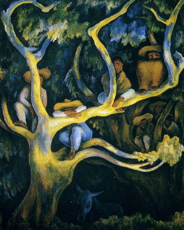Nocturnal Landscape Diego Rivera 1947 Diego Rivera Arte