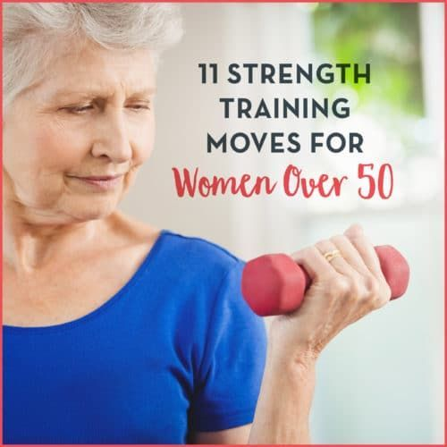 Weight Training for Women Over 50 [11 Exercises to Try]
