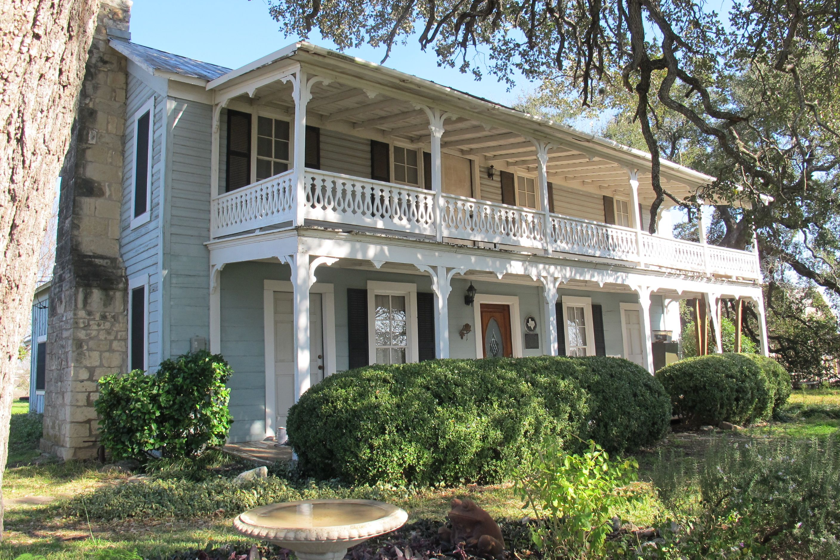 The A.S Mason Historic Home at 600 Bagdad Rd S Leander TX