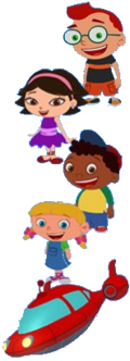 Little Einsteins. IF she doesn't grow up playing a