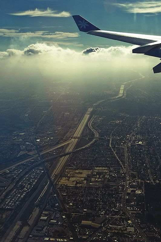 In The Air Plane Window View Airplane View Scenery