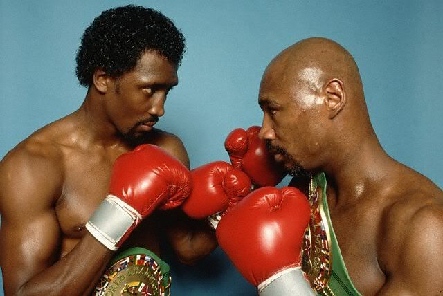 Pin By Arhe On Sports History Boxing History Red Boxing Gloves Marvelous Marvin Hagler