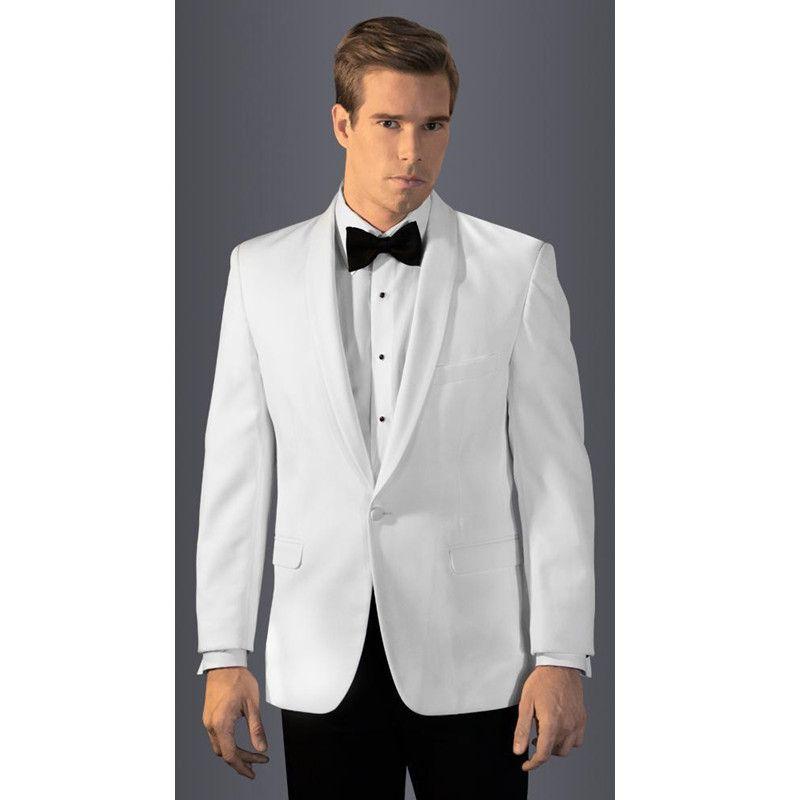 white tuxedos for men wedding suits for men black pants groomsmen ...
