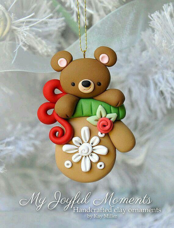 Navidad navide os porcelana fr a navidad porcelana for Adornos navidenos en porcelana fria utilisima