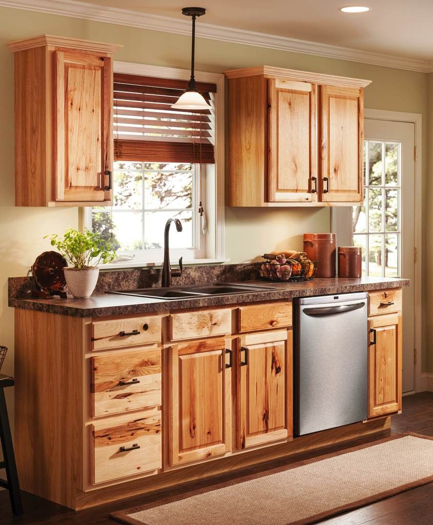 50 Unfinished Pine Kitchen Cabinets Online Kitchen Cabinet Lighting Ideas Check More At H Hickory Kitchen Cabinets New Kitchen Cabinets Kitchen Design Small