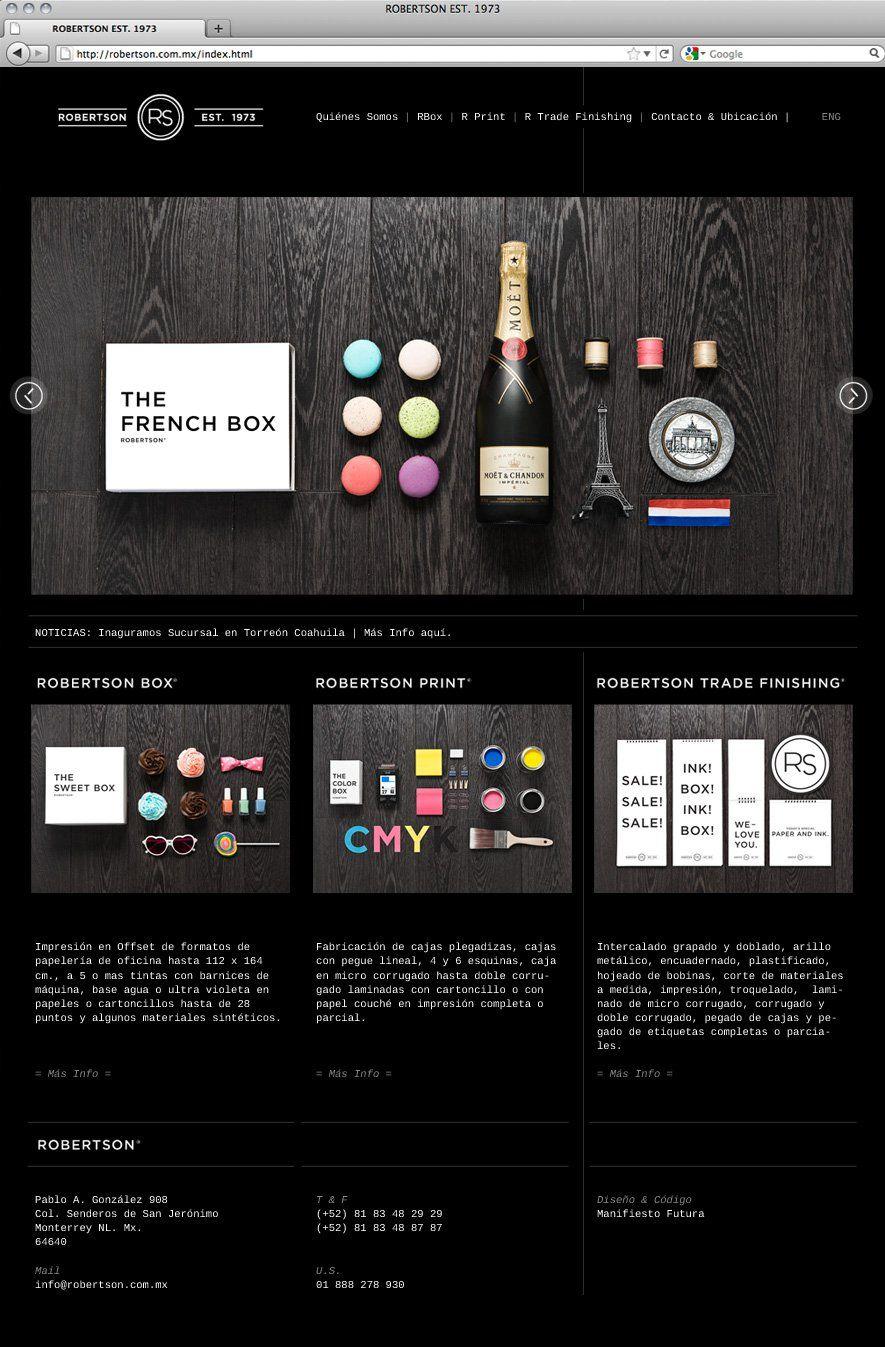 Manifiesto Futura - Robertson website