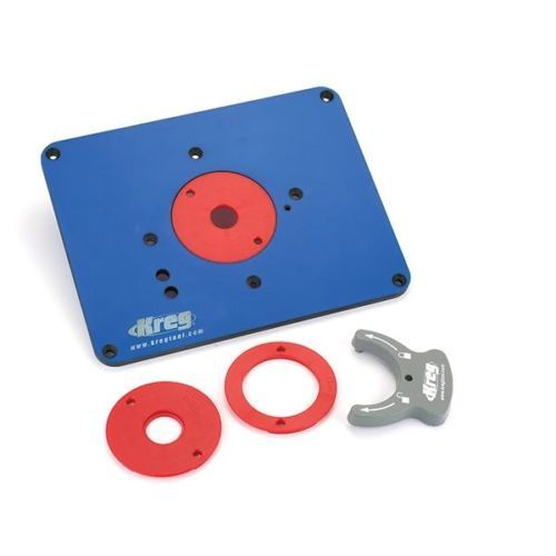 Kreg prs3034 precision pre drilled router table insert plate for kreg prs3034 precision pre drilled router table insert plate for triton router keyboard keysfo Image collections
