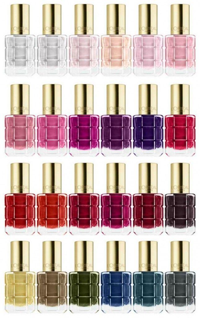 L\'Oréal Paris Color Riche Le Vernis a L\'Huile Spring 2016 | Makeup ...