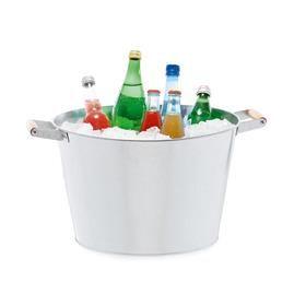 5bcc8c422d0 Galvanised Ice Bucket | Kmart | Outdoor living | Bucket, Ice y ...