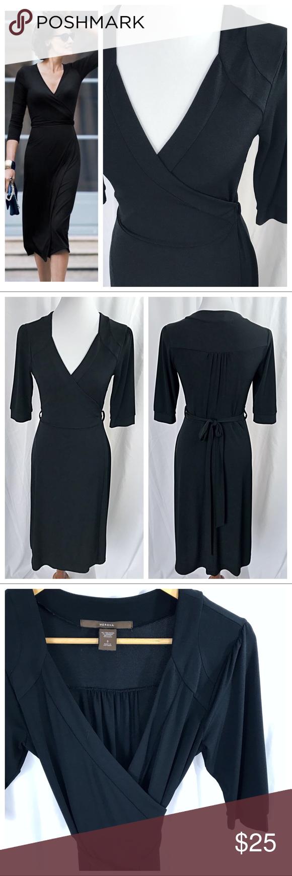 Black wrap dress wrap dresses wraps and stretches