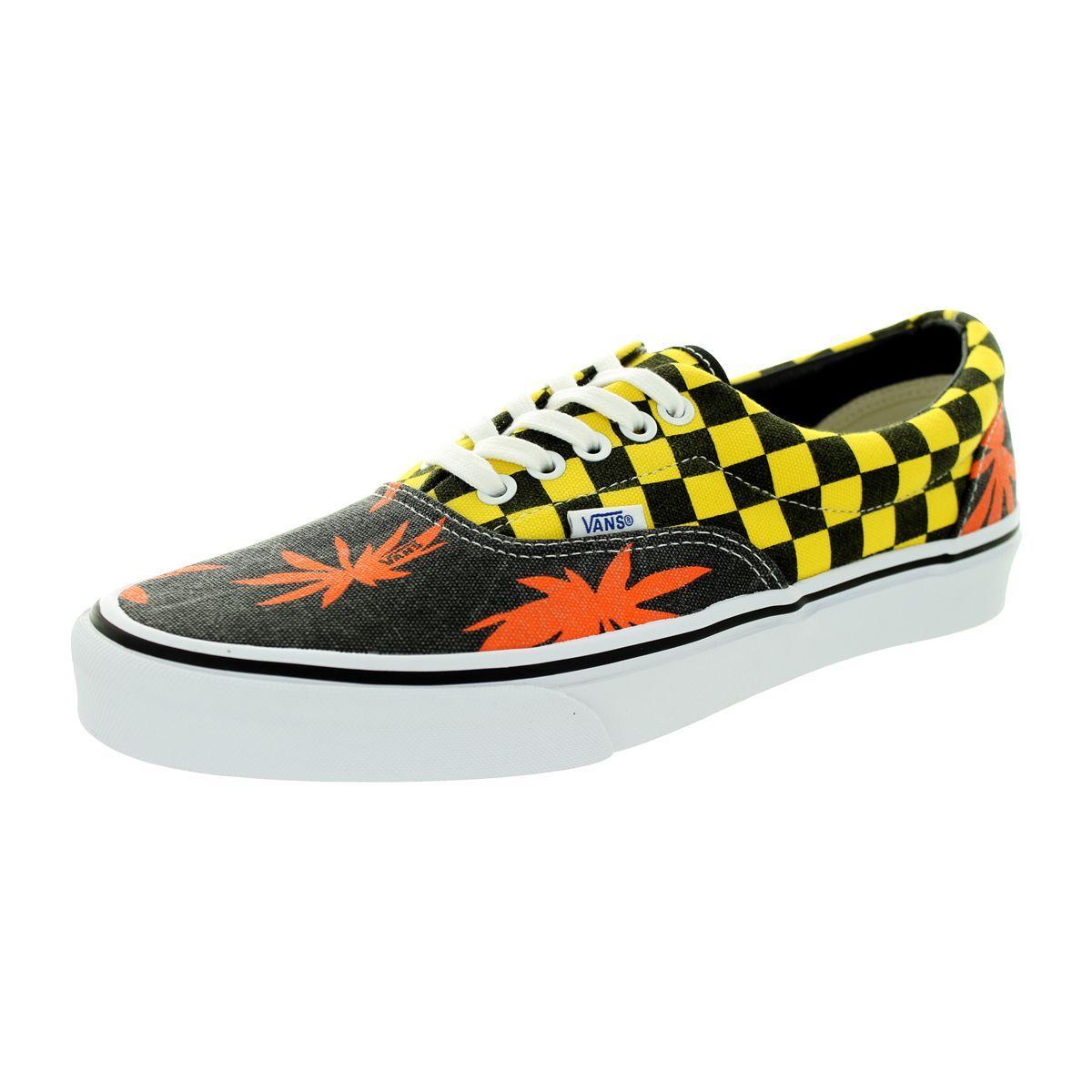Vans Unisex Era Van Doren Orange/Yellow Skate Shoe