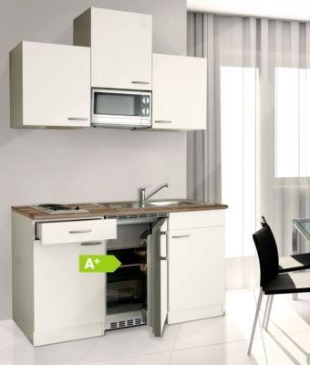 Respekta Küchenzeile KB150WWMI 150 cm Weiß Jetzt bestellen unter - küchenblock 270 cm