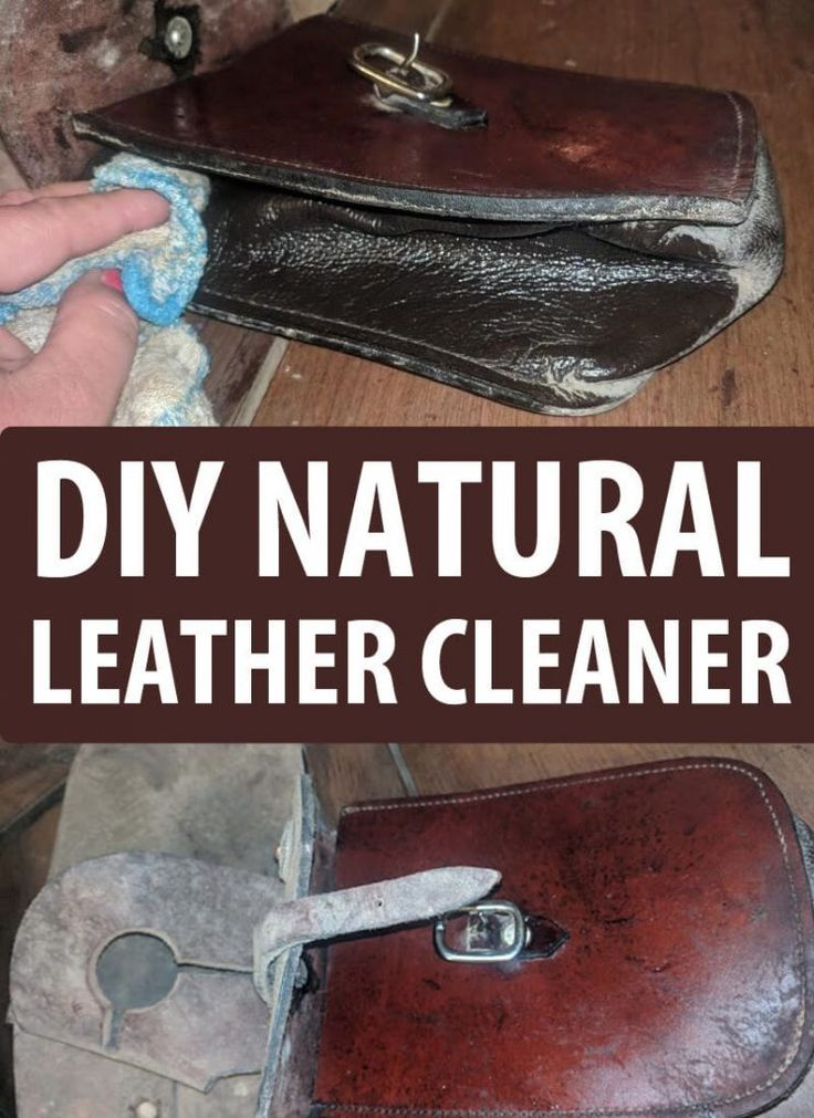 DIY Natural Leather Cleaner (With images) Natural