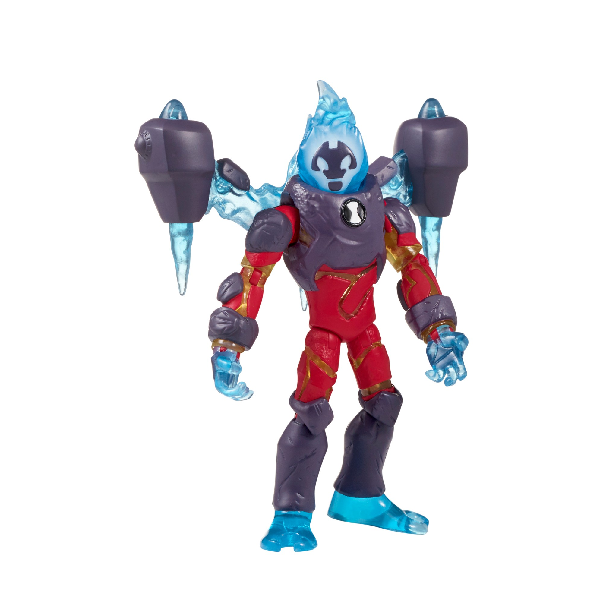 Playmates Toys Ben 10 Giant Action Figure Battle Kids Toy 10inch Heatblast