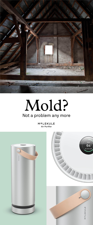 Molekule completely destroys airborne allergens, mold