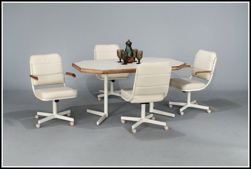 Kitchen Chairs With Casters Kitchen Table Settings Kitchen