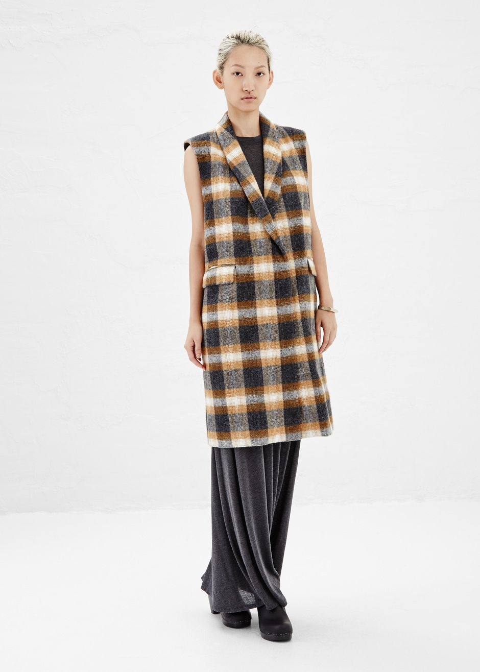 Rachel comey crest coat in multi totokaelo rachelcomey pure