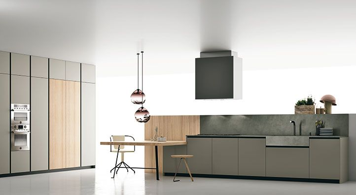 With Materia collection, Doimo Cucine aims to the perfect fit of ...