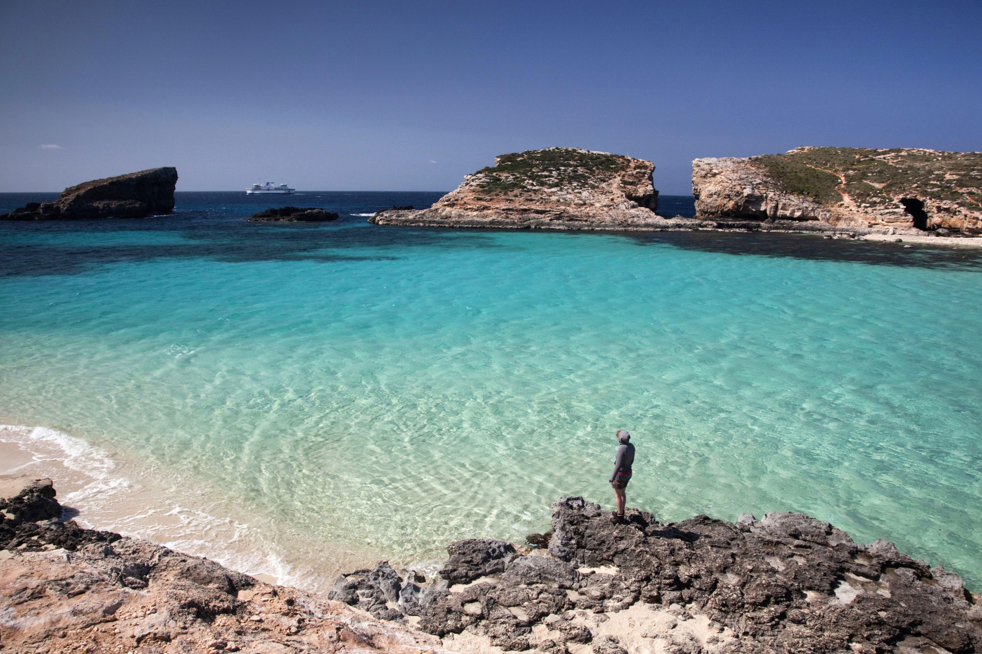 Blue Lagoon Comino Malta Comino Lonely Planet In 2020