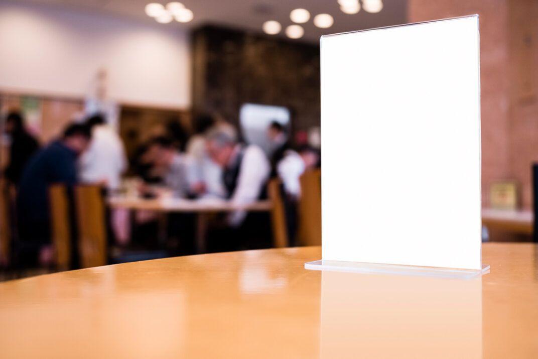 Download Restaurant Menu Card Holder Mockup Mockup World In 2020 Restaurant Menu Card Menu Restaurant Menu Cards