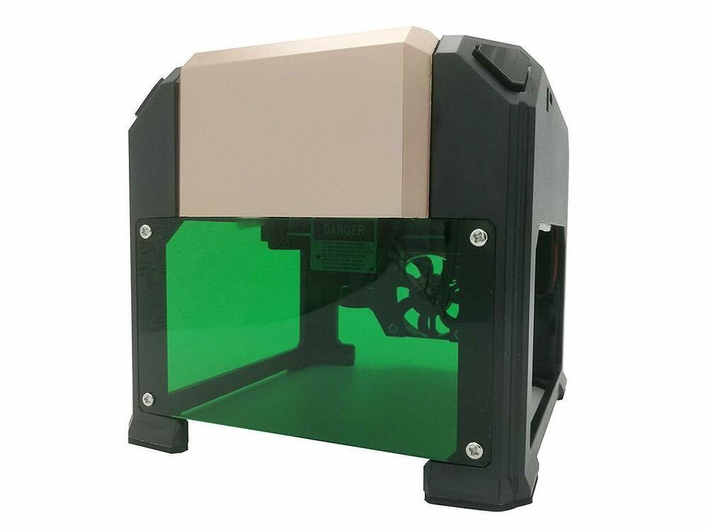 USB 3000mW DIY Lasergravierer Laser Graviermaschine Desktop Schneider Drucker