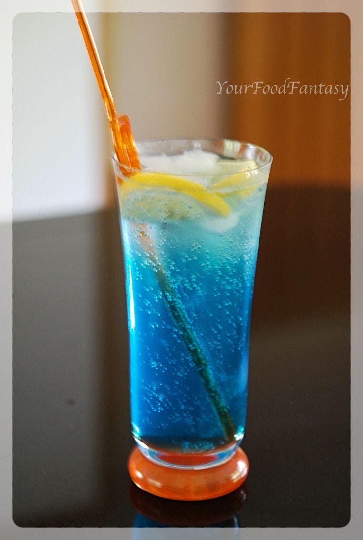 Blue Lagoon Mocktail Recipe Blue Mocktail Recipe Blue