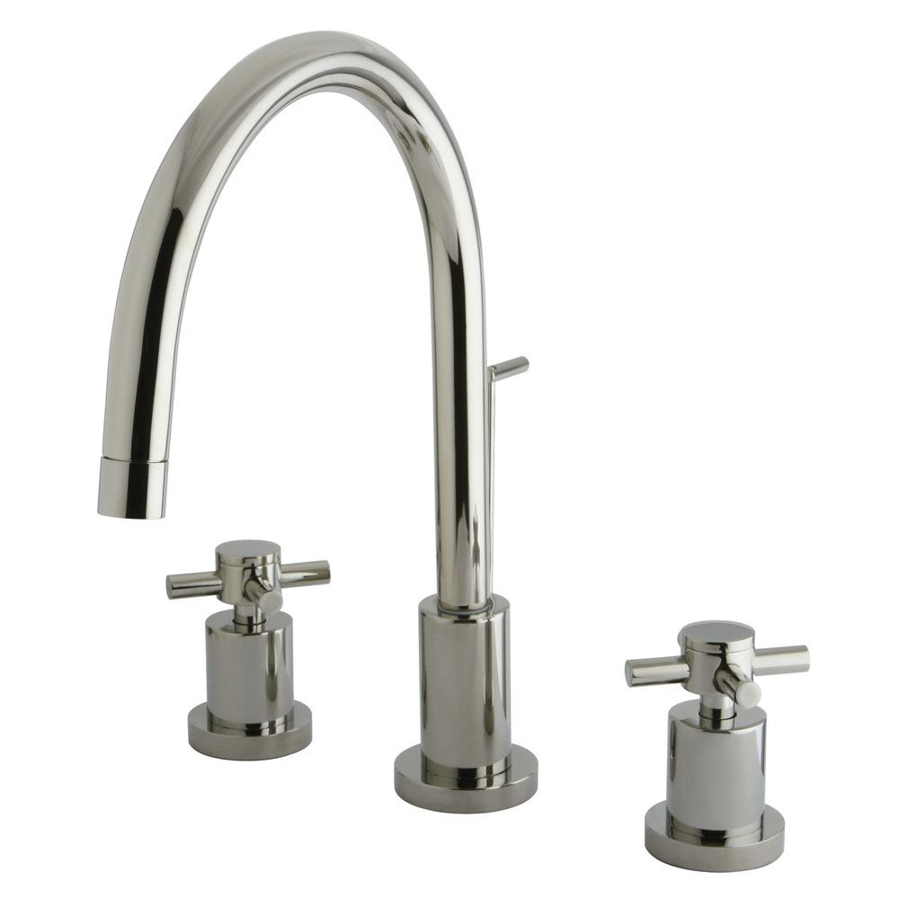 Elements of Design Concord Double Handle Single Hole Widespread ...