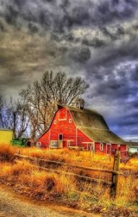 Barn Looks Stormy