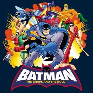 Batman The Brave And The Bold Explosive Heroes T Shirt With
