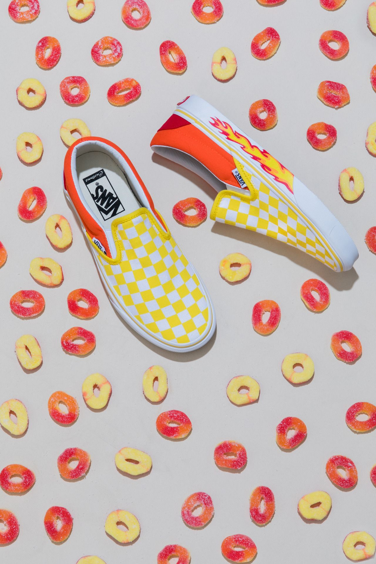 8acee44d53 Peachy keen  mix and match your favorite colors and patterns to design your  perfect pair of Vans. Make your own at vans.com customs