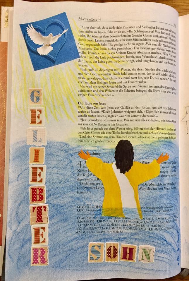 Gemeinschaftsbibel Reisebericht Bibleartjournaling Dergrunewicht Bibleart Rp Illustratedfaith Bajstempel Bibel Kunst Reisebericht Bibel