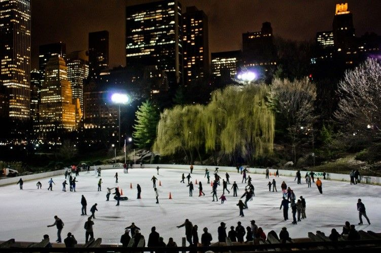 Wollman Rink Central Park Ice Skating