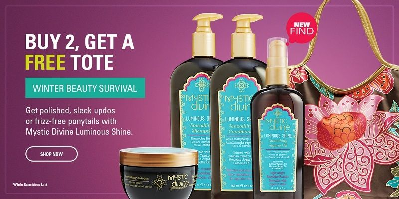 Sally Beauty Buy 2 Mystic Divine Beauty Products and Get