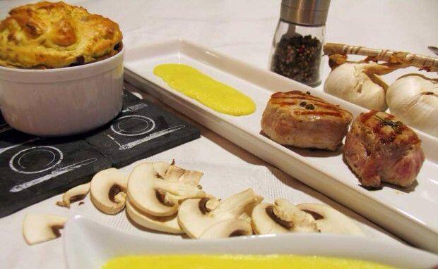 #filetto di #manzo con #fonduta e #tortino di #patate #funghi e #granapadano  http://www.chezgaspar.com/filetto-di-manzo-di-rovato-con-fonduta-al-bagoss-e/  #singluten #sansgluten #glutenfree #glutenfrei #celiaco #celiachia #naturalmente #naturalmentesenza