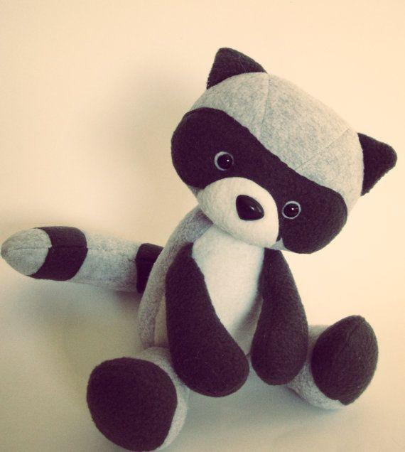 Rae the Raccoon / Softie Series | Pinterest | Waschbär, Spielen und ...