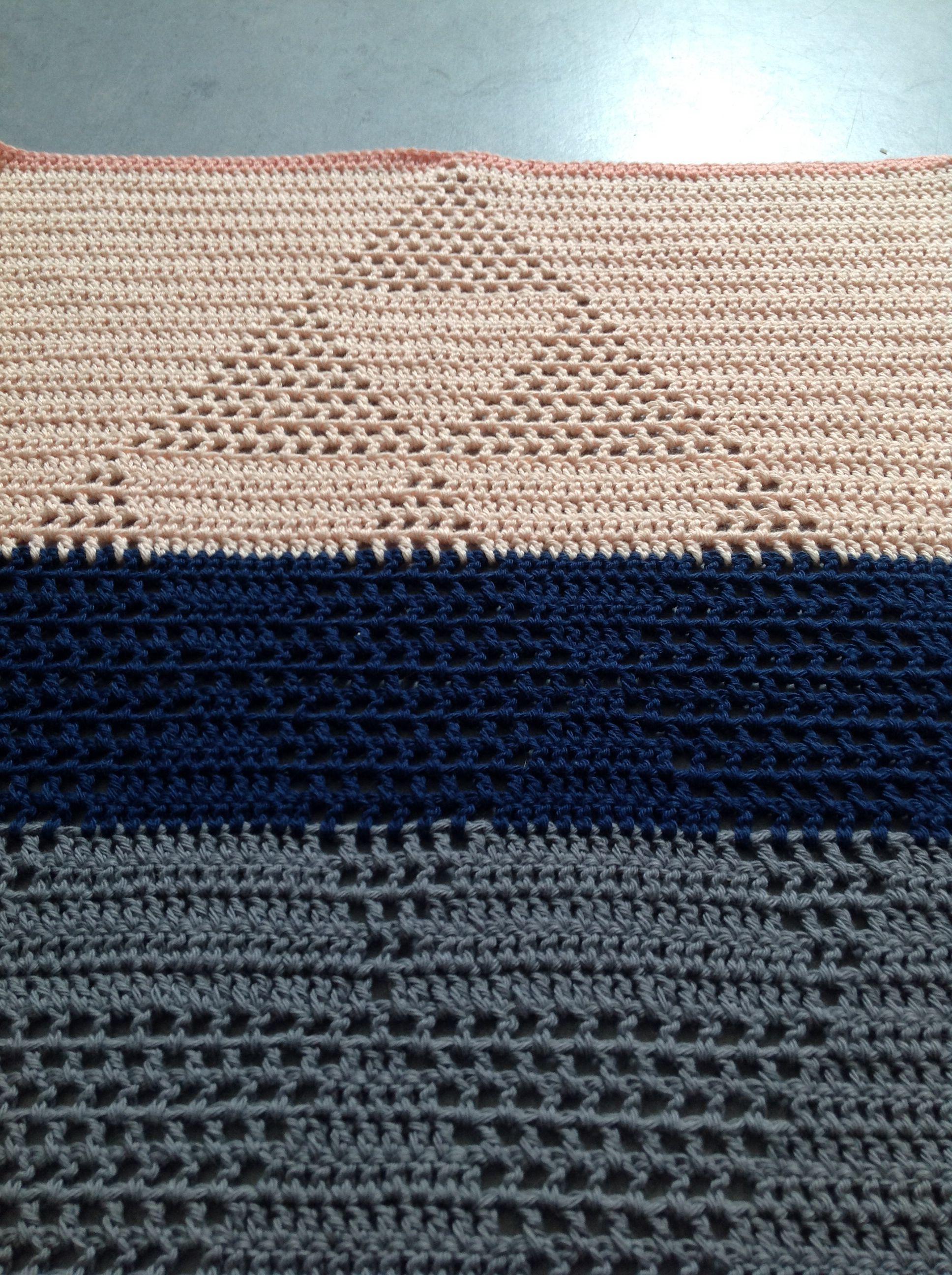 Hæklet harlekinshåndklæder fra Tichtach
