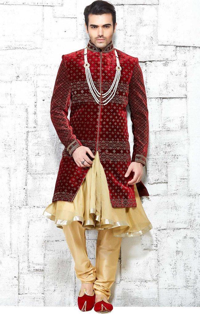 9 Types Of Wedding Sherwani Every Groom Should Know Wedding